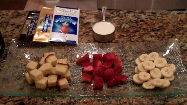 Aarsi's Easy Chocolate Fondue