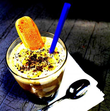 Pumpkin-Gingersnap Milkshake