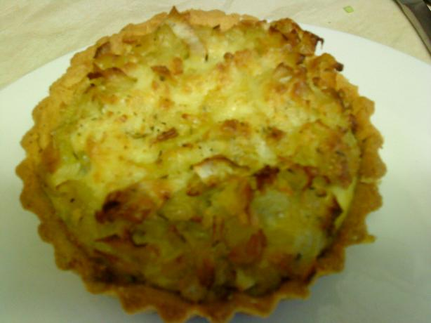 Wicklewood's Individual Cheese and Leek Tartlets (Gluten F