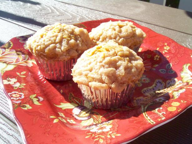 Pumpkin Muffins With Crumble Topping (G/F)