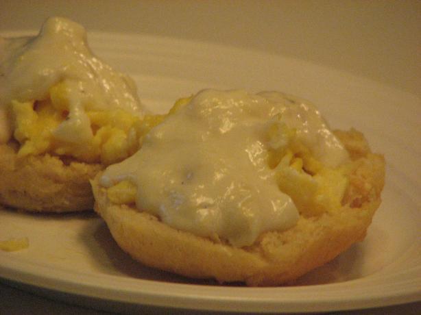 Egg Gravy for 2