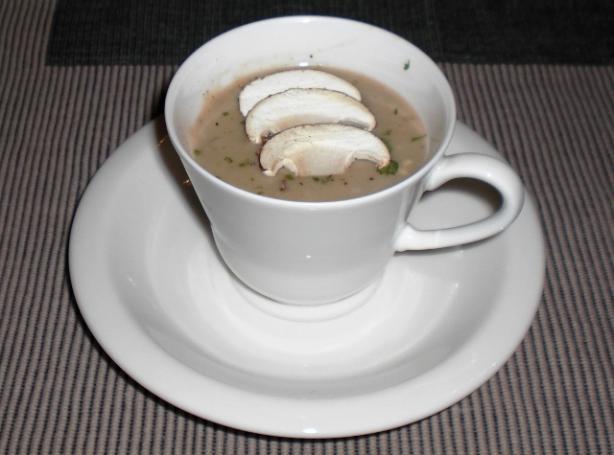 Cream of Wild Mushroom