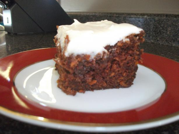Old Fashioned Carrot Cake