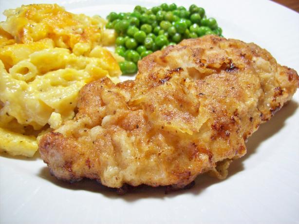 Old Bay Seasoned Fried Chicken Breasts