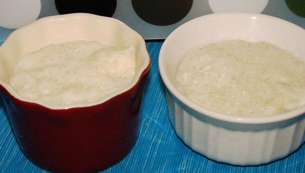 Eggless Egg Free Tapioca Pudding