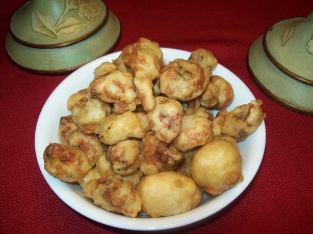 Batter Fried Snails