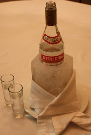 Iced Russian Vodka