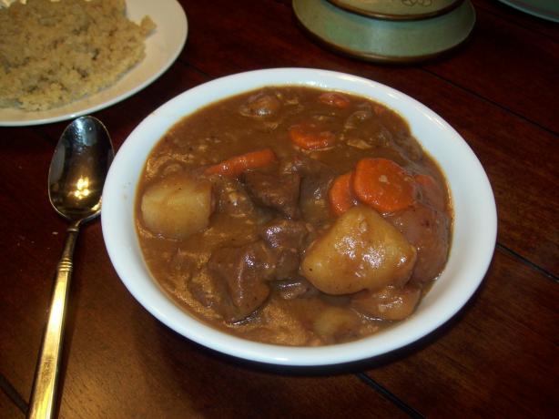 It's Venison Stew, Dear