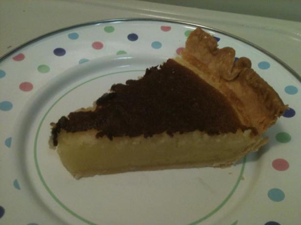 Classic Southern Buttermilk Pie
