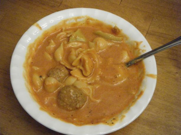 Hearty Italian Soup (Full Meal)