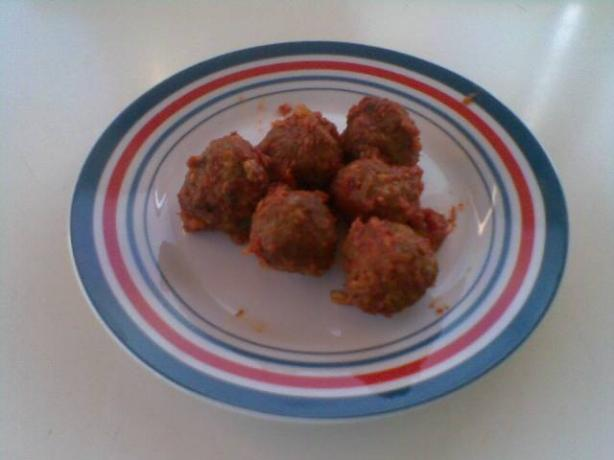 Meatballs With Rolled Oats