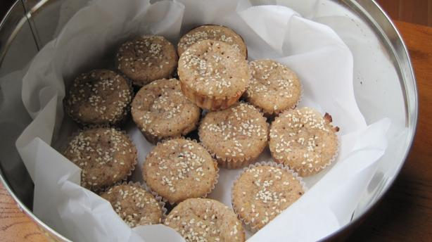 Lemon Sesame Muffins (Vegan)