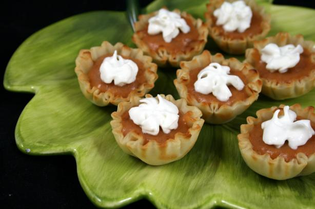 No-Bake Pumpkin Tarts