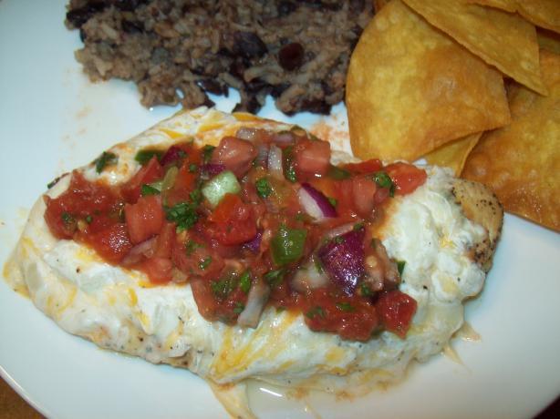 Enchilada Chicken Melt