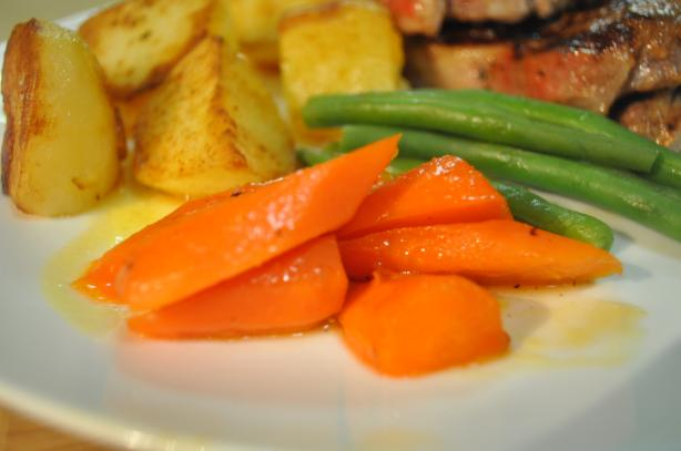 Cumin and Honey Carrots