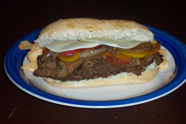 Southwest Steak and Pepper Sandwich