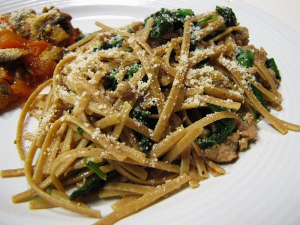 Pasta With Sausage and Kale (Ww)