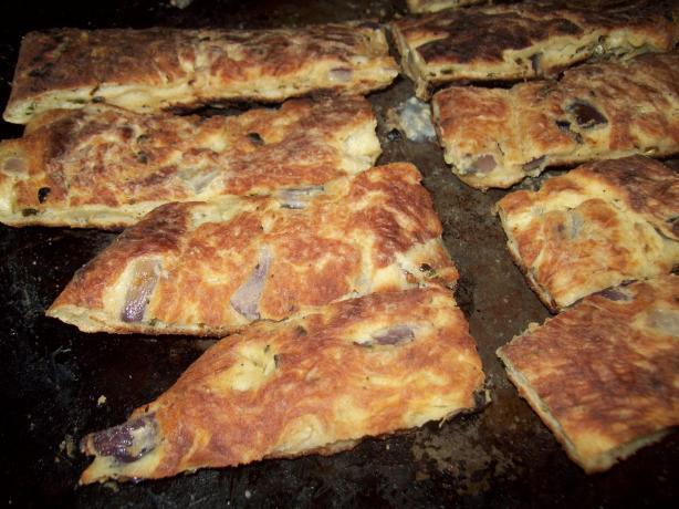 Gourmet Flat Bread Breadsticks
