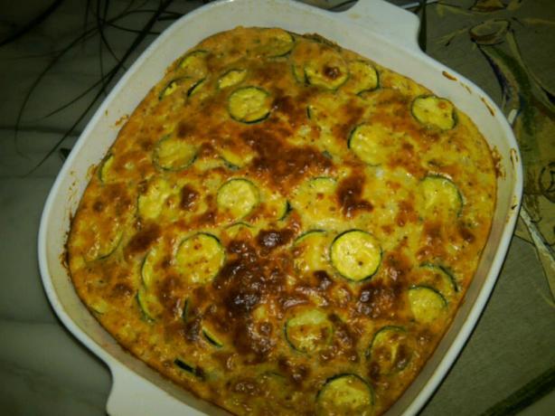 A+ Zucchini Pie