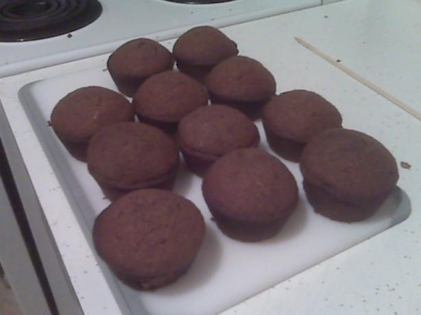 Tara's Chocolate Zucchini Muffins