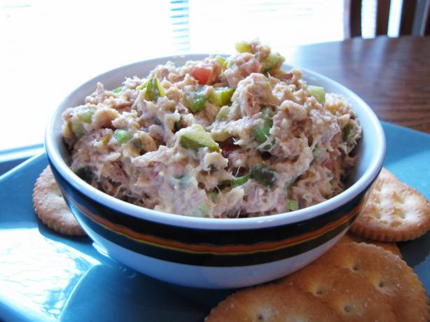 Light Tuna Salad, Chicago Hotdog Style (Sort Of)
