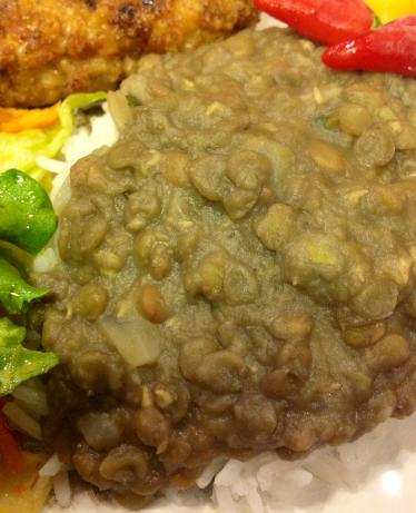 Caribbean Stewed Lentils
