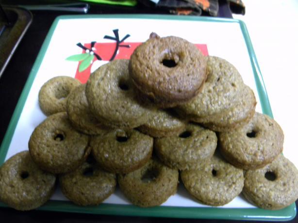 Baked Apple Cinnamon Petite Donuts