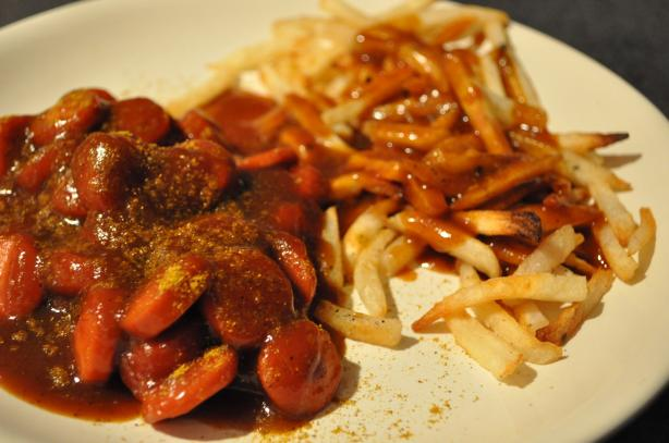 Curry Sausage German Style (Currywurst) from German Chef