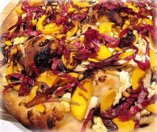 Winter Squash, Onion, and Pine Nut Pizza