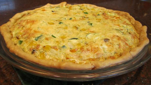 My Craze-E Kicked-Up Quiche!