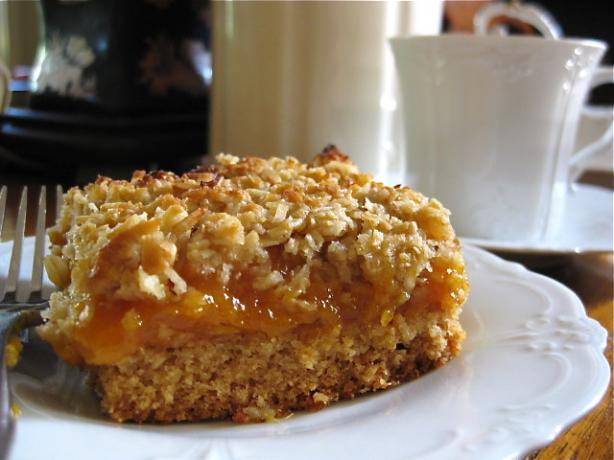 Gluten Free Rustic Apricot Slice
