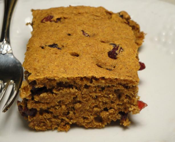 Fat Free Pumpkin Bars