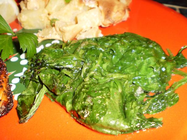 Simple Spinach