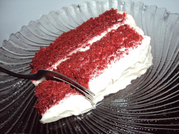 """he Proposed!"" Red Velvet Cake"