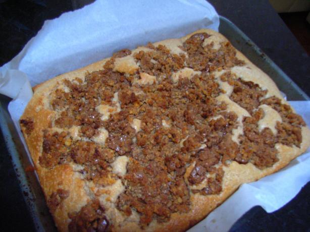 Overnight Crunch Coffee Cake