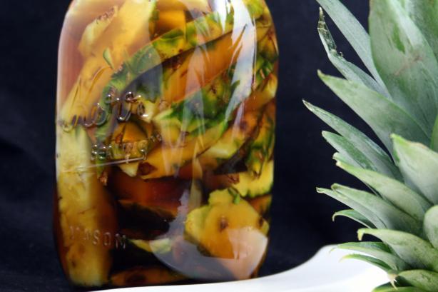 Homemade Pineapple Vinegar (Vinagre De Pina)