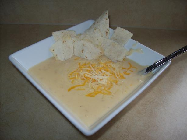 Leftover Turkey & Cheese Creamy Soup