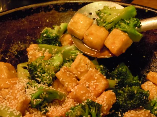 Better-Than-Takeout Sesame Tofu