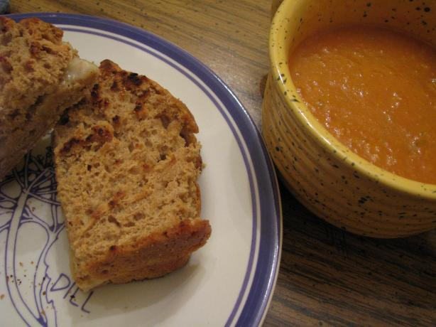 Healthy Roasted Pepper and Tomato Soup