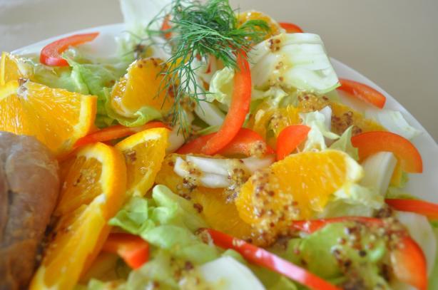 Fennel & Orange Salald