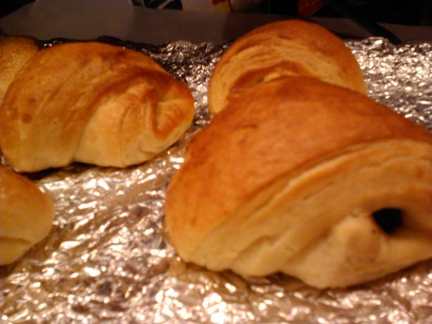 Pain Au Chocolat- Chocolate Filled Croissants