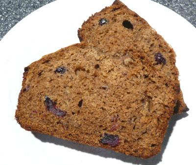 Gingerly Molasses Christmas Banana Bread