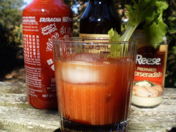 Dirty Sriracha Bloody Mary