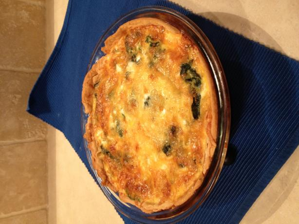 Quiche Lorraine- Paula Dean's but Reduced Calorie
