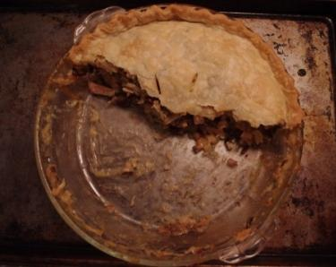 Wild Rice Turkey Pot Pie