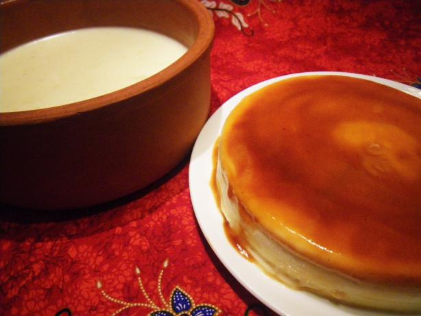 Flan De Adi (Caramelized Heavy Cream Dessert)