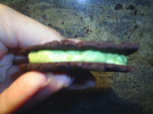 Dark Chocolate Sandwich Cookies (Gluten Free)