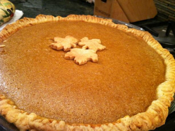 J-Man's Ultimate Pumpkin Pie