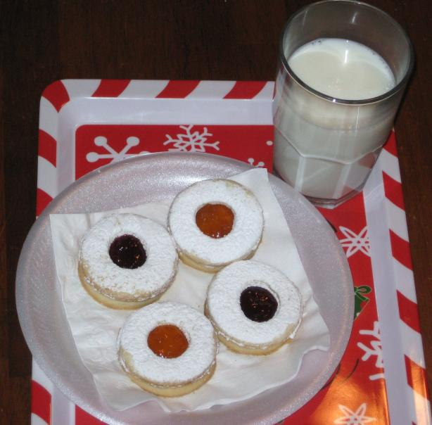 Gluten Free Jam Cookie