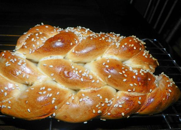 Sesame Twist Bread